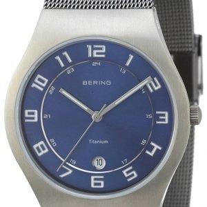 Bering Titanium 11937-078 Kello Sininen / Titaani
