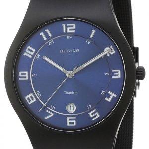 Bering Titanium 11937-227 Kello Sininen / Titaani