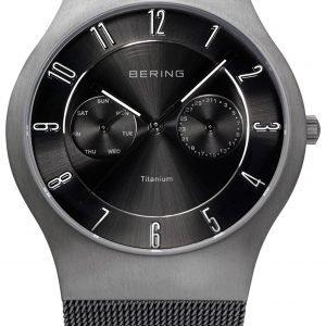 Bering Titanium 11939-077 Kello Musta / Titaani