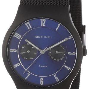 Bering Titanium 11939-078 Kello Sininen / Titaani