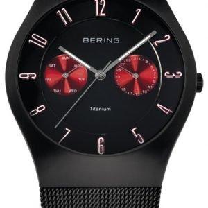 Bering Titanium 11939-229 Kello Musta / Titaani