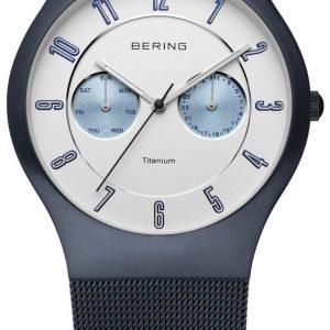 Bering Titanium 11939-394 Kello Valkoinen / Titaani