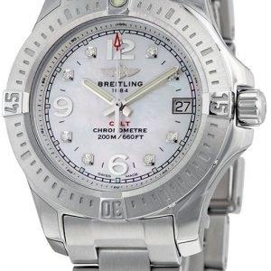 Breitling A7738811-A769-175a Kello Valkoinen / Teräs