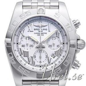 Breitling Chronomat 44 Ab011012-G676-375a Kello Hopea / Teräs