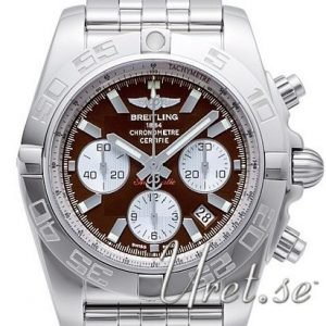 Breitling Chronomat 44 Ab011012-Q575-375a Kello Ruskea / Teräs