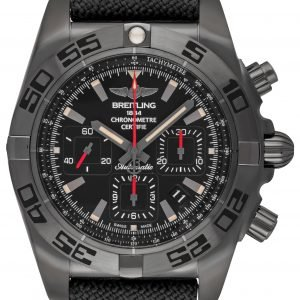Breitling Chronomat 44 Blacksteel Mb0111c3-Be35-109w-M20basa.1 Kello