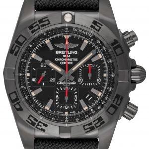Breitling Chronomat 44 Blacksteel Mb0111c3-Be35-109w-M20basa.1 Kello