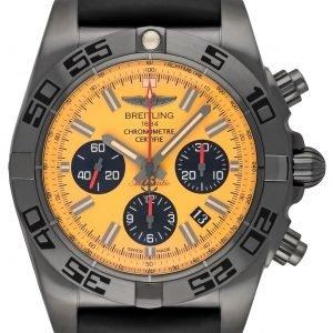Breitling Chronomat 44 Blacksteel Mb0111c3-I531-262s-M20dsa.2 Kello