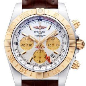 Breitling Chronomat 44 Gmt Cb042012-A739-739p-A20ba.1 Kello
