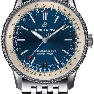 Breitling Navitimer 01 A17325211c1a1 Kello Sininen / Teräs
