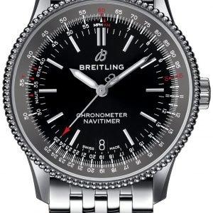 Breitling Navitimer 01 A17325241b1a1 Kello Musta / Teräs