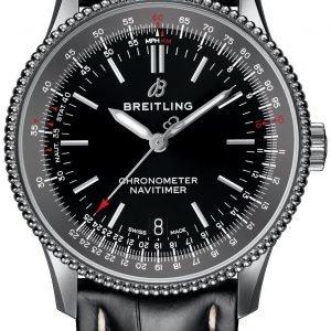 Breitling Navitimer 01 A17325241b1p1 Kello Musta / Nahka