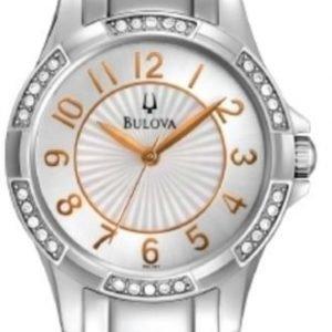 Bulova 96l161k Kello Valkoinen / Teräs
