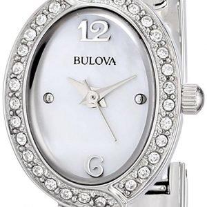 Bulova 96l199 Kello Valkoinen / Teräs