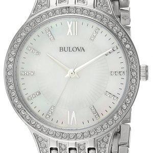Bulova 96l242 Kello Valkoinen / Teräs