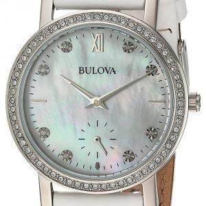 Bulova 96l245 Kello Valkoinen / Nahka