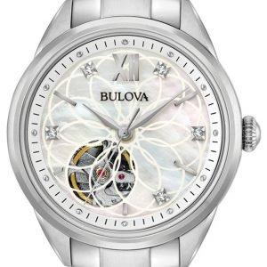 Bulova 96p181 Kello Valkoinen / Teräs