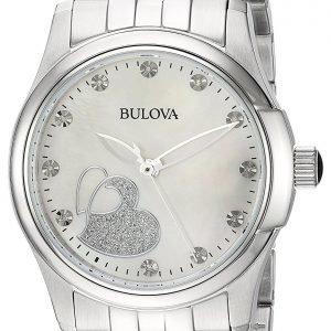 Bulova 96p182 Kello Valkoinen / Teräs