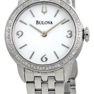 Bulova 96r181 Kello Valkoinen / Teräs