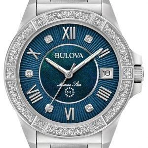 Bulova 96r215 Kello Sininen / Teräs