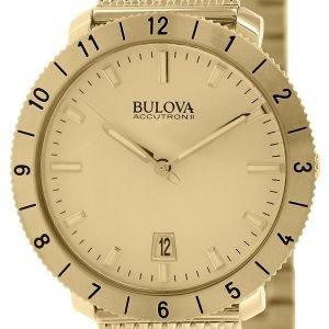 Bulova 97b129 Kello Kullattu / Kullansävytetty Teräs