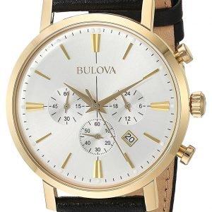 Bulova 97b155 Kello Valkoinen / Nahka