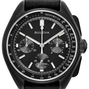 Bulova 98a186 Kello Musta / Teräs