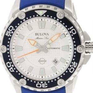 Bulova 98b208 Kello Hopea / Kumi