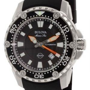 Bulova 98b209 Kello Musta / Kumi