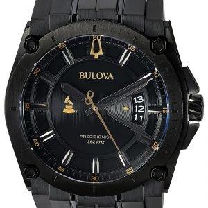 Bulova 98b295 Kello Musta / Teräs