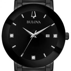 Bulova 98d144 Kello Musta / Teräs