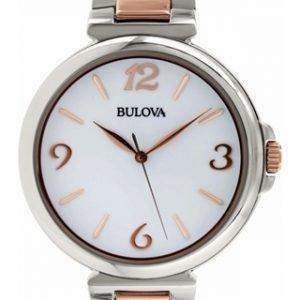 Bulova 98l195 Kello Valkoinen / Teräs