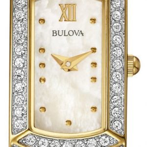 Bulova 98l204 Kello Hopea / Kullansävytetty Teräs