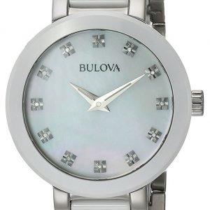 Bulova 98p158 Kello Valkoinen / Teräs