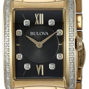 Bulova 98r228 Kello Musta / Kullansävytetty Teräs