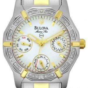 Bulova 98w01 Kello Hopea / Teräs