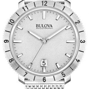 Bulova Accutron 96b206 Kello Hopea / Teräs