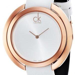 Calvin Klein Aggregate K3u236l6 Kello Hopea / Nahka