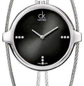 Calvin Klein Agile K2z2m11s Kello Musta / Teräs