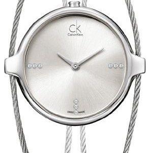 Calvin Klein Agile K2z2m11w Kello Hopea / Teräs