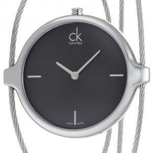 Calvin Klein Agile K2z2s111 Kello Musta / Teräs