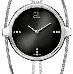 Calvin Klein Agile K2z2s11s Kello Musta / Teräs