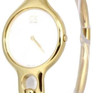 Calvin Klein Air K1n22526 Kello Valkoinen / Kullansävytetty