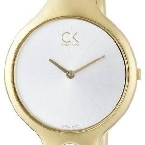 Calvin Klein Air K1n23526 Kello Hopea / Kullansävytetty Teräs