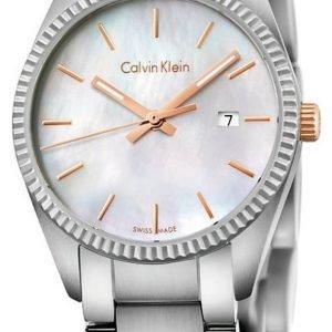 Calvin Klein Alliance K5r33b4g Kello Valkoinen / Teräs
