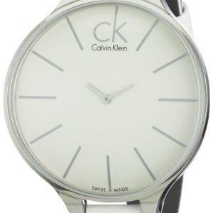 Calvin Klein Basic K2b23101 Kello Valkoinen / Nahka