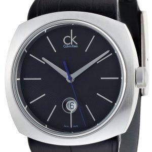 Calvin Klein Basic K9711102 Kello Musta / Nahka