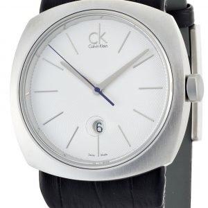 Calvin Klein Basic K9711120 Kello Valkoinen / Nahka
