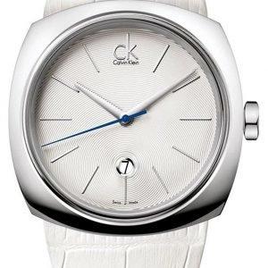 Calvin Klein Basic K9721137 Kello Valkoinen / Nahka