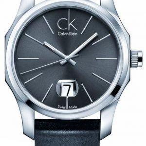Calvin Klein Biz K7741107 Kello Musta / Nahka